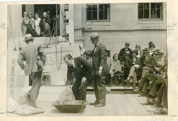 Cornerstone 1931