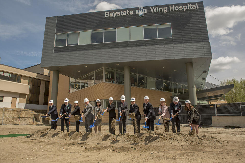 new emergency room at baystate wing hospital