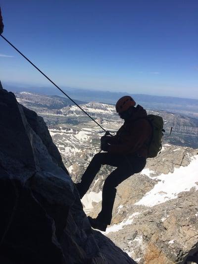 Dr. Parikh - Mountain Climbing